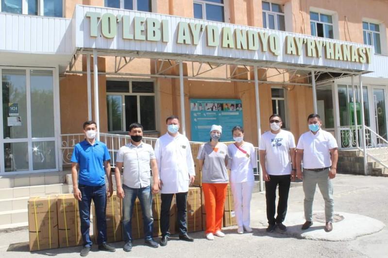 Толебийская районная больница пополнилась 10 кислородными концентратами