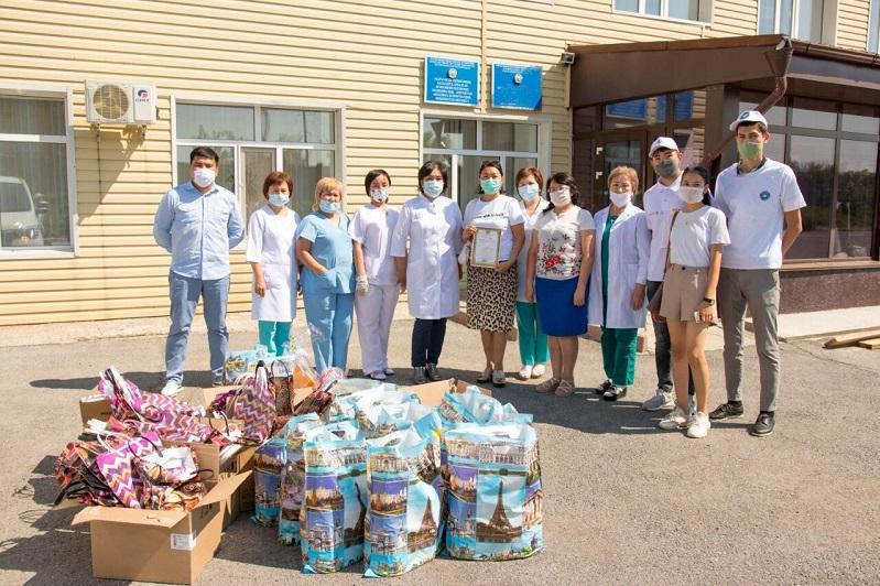 Помощь медработникам более чем на 82 миллиона тенге оказала АНК в дни Курбан айта