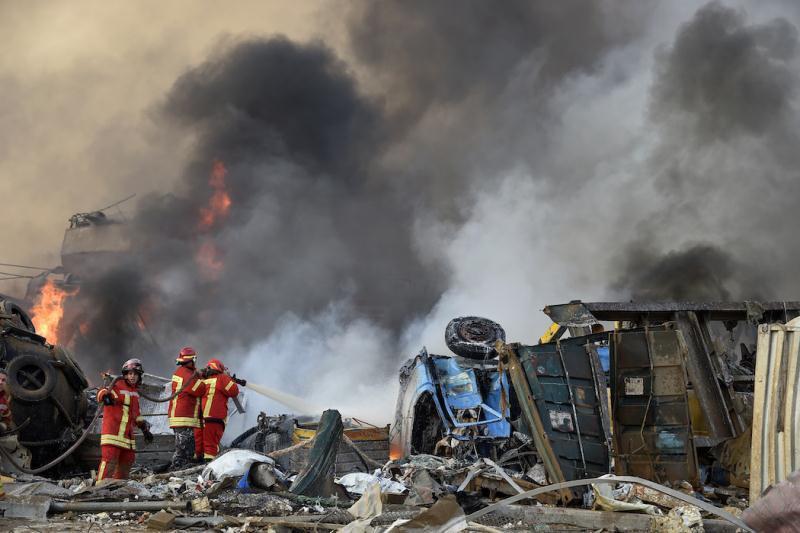 Взрыв в порту Бейрута: сведения очевидцев