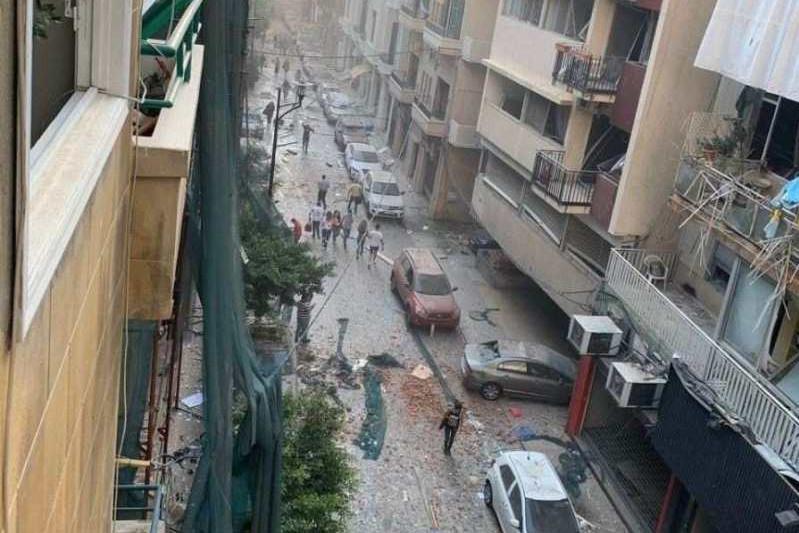 Бейруттағы жойқын жарылыс: 60-тан астам адамның жағдайы ауыр