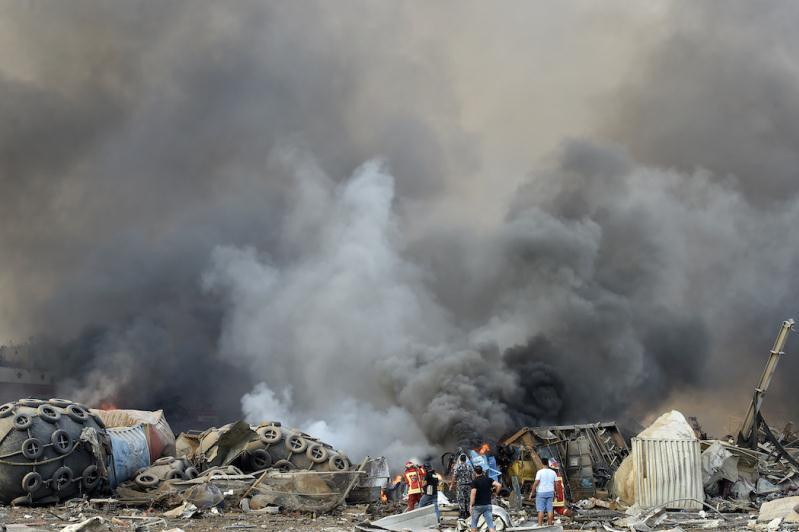 Beırýttaǵy jarylys: Qaza tapqandar 113 adamǵa jetti