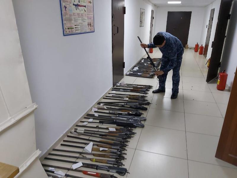 Свыше 3,6 млн тенге получили актюбинцы за сданное оружие