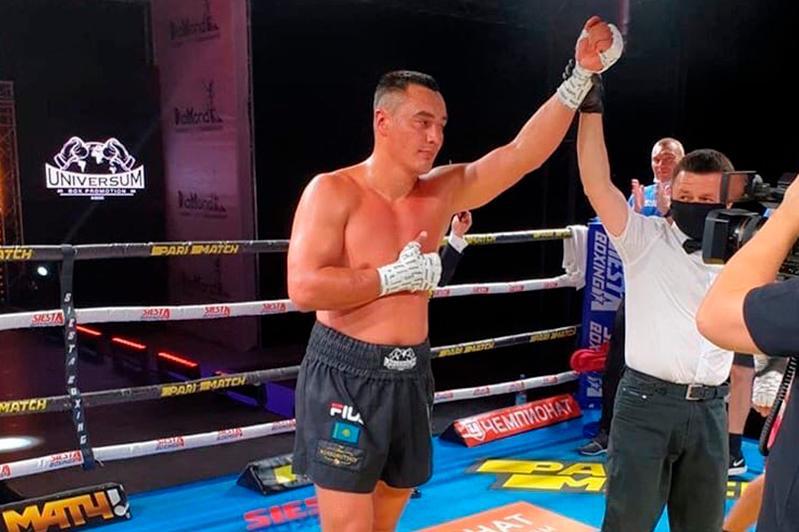 职业拳击:哈萨克斯坦拳手迎来职业生涯第14场胜利