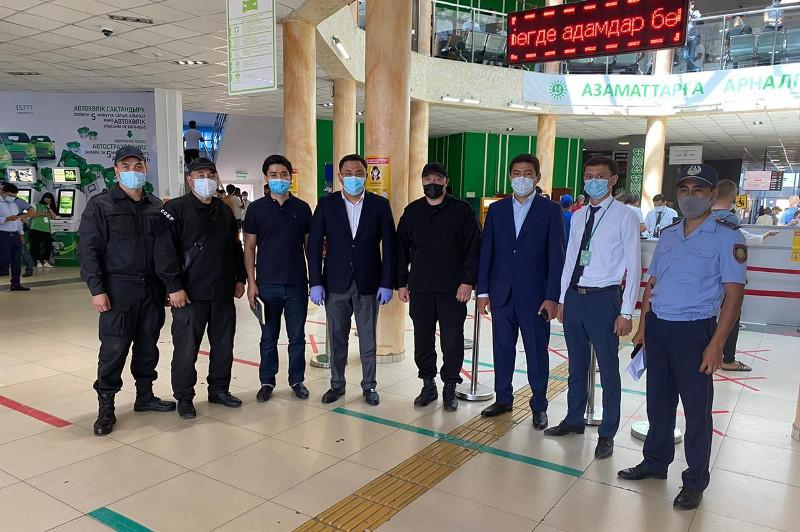 «Помогаек» выявляют в спецЦОНе Алматы
