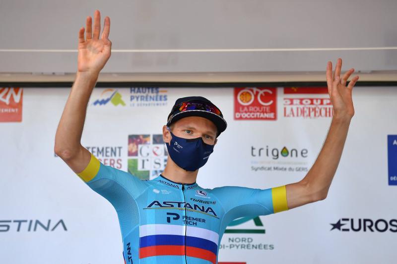 Велогонщик Astana Pro Team занял третье место в многодневке «Тур Окситании»