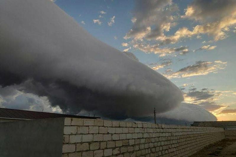 Сильный ливень обрушился на Мангыстау: выпало больше семи месячных норм осадков