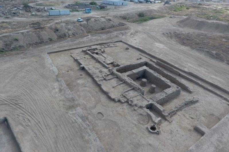 Ancient khanaka unearthed at Kultobe settlement