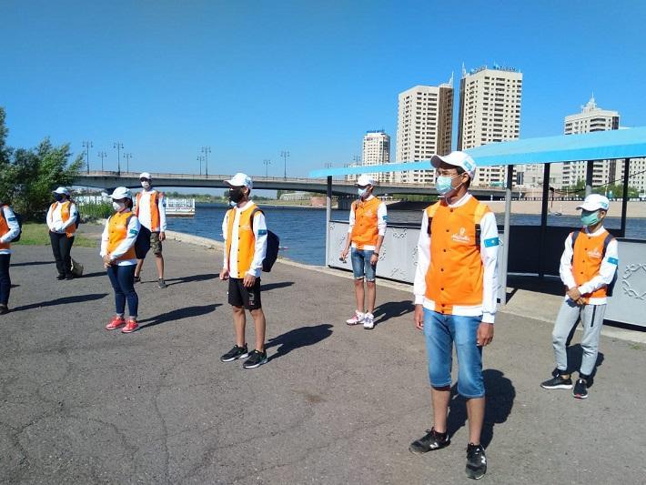 Волонтеры будут помогать спасателям в столице