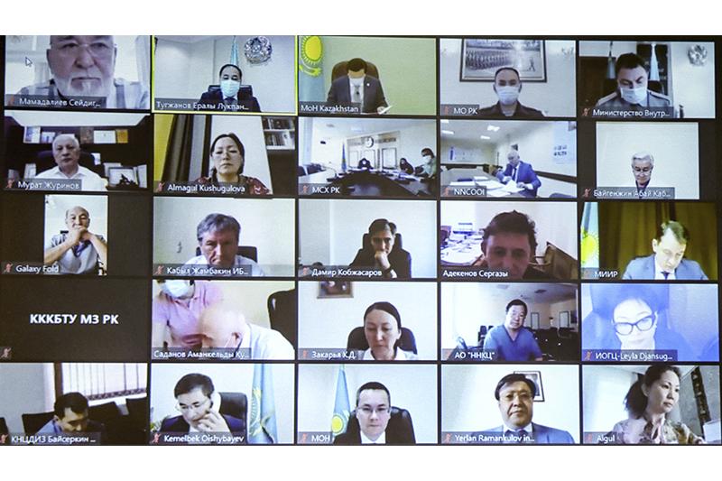 Ералы Тоғжанов Биологиялық қауіпсіздік жөніндегі кеңес отырысын өткізді