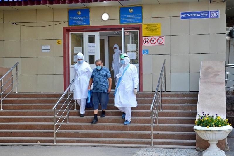 努尔苏丹市76%的新冠患者已治愈出院