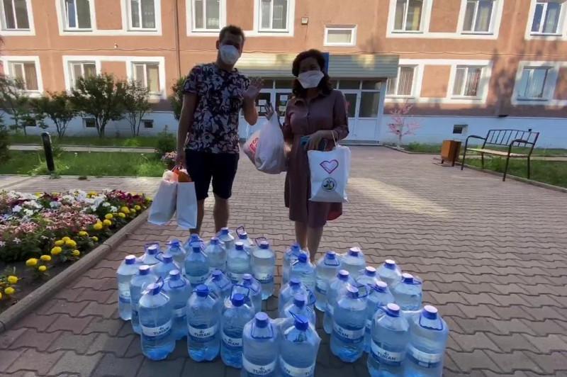 В Акмолинской области предприниматели помогают больницам в сложный период
