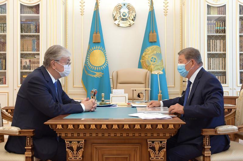 Президенту доложили о деятельности ФНБ «Самрук-Казына» в рамках борьбы с пандемией коронавируса