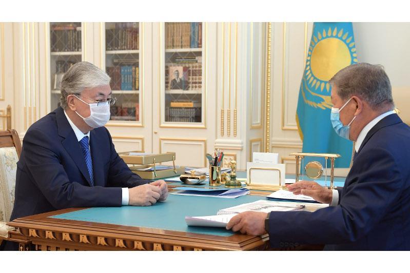 Есімов Президентке Ресеймен бірлесіп коронавирусқа қарсы вакцина өндіру жоспары жайында айтты
