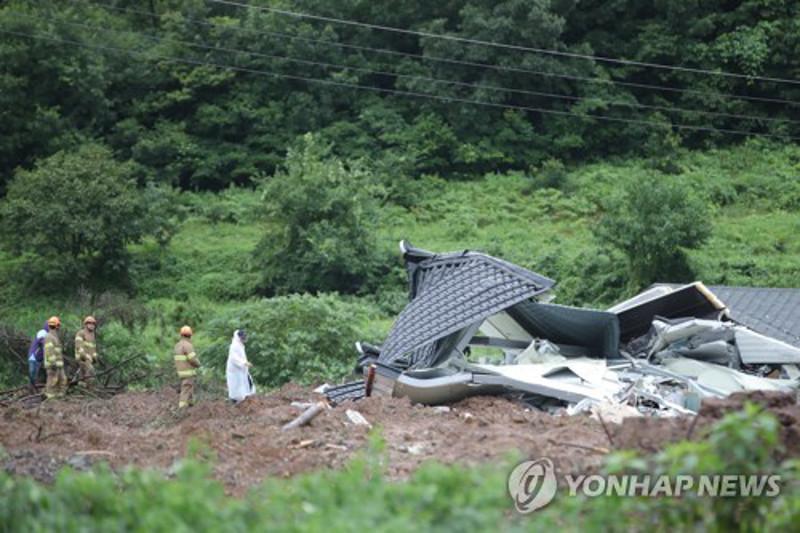 Оңтүстік Кореяда көшкін жүріп, төрт адам қаза тапты