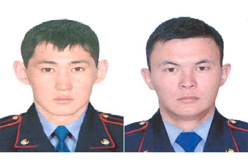 Рудныйда өрттен 30 тұрғынды құтқарған полицейлер марапатталды