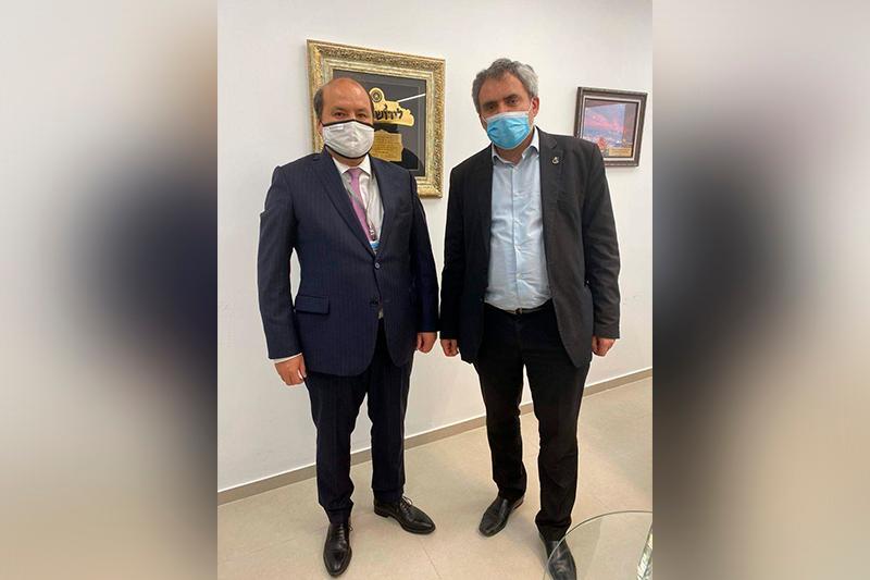 Экономическое сотрудничество Казахстана и Израиля и борьбу с коронавирусом обсудили в Тель-Авиве
