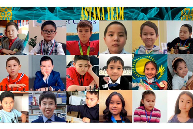 Команда Astana победила в международном шахматном турнире