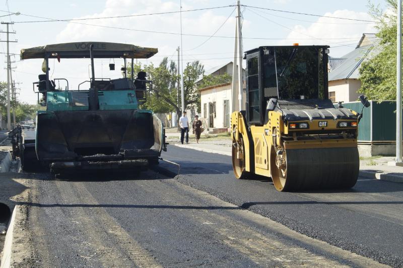 Более 120 улиц отремонтируют в Кентау