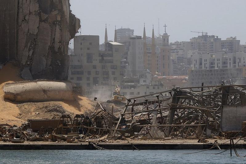 Int'l community pledges aid to blasts-stricken Lebanon