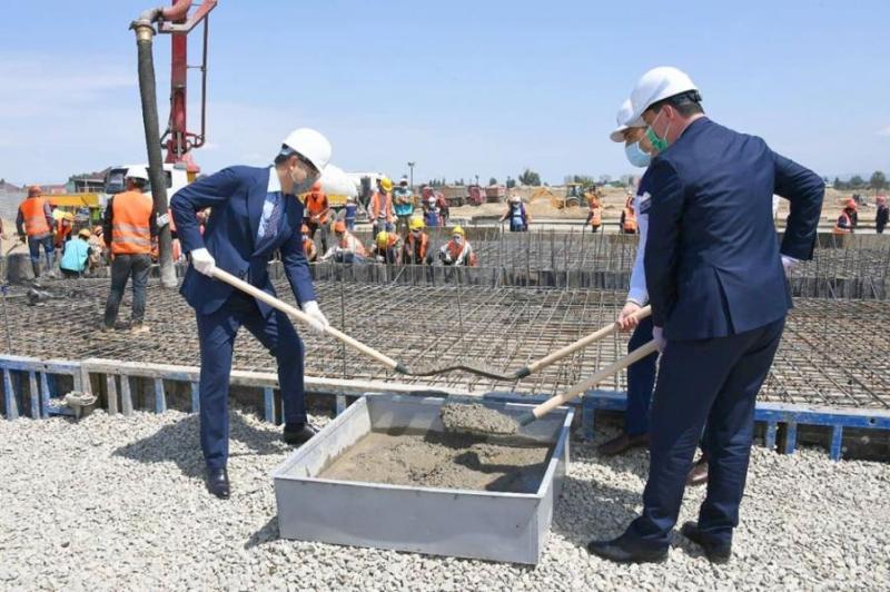 阿拉木图开建第二家模块化新冠专科医院