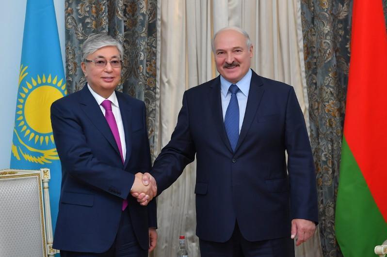 Касым-Жомарт Токаев поздравил Александра Лукашенко с переизбранием на пост Президента Беларуси