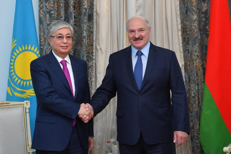 President Tokayev congratulates Lukashenko on winning reelection