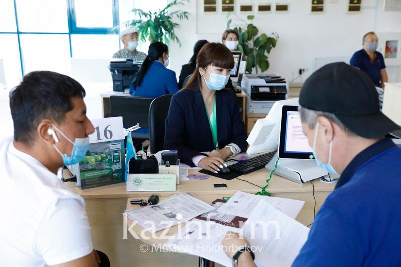 График работы ЦОНов продлен в семи областях Казахстана