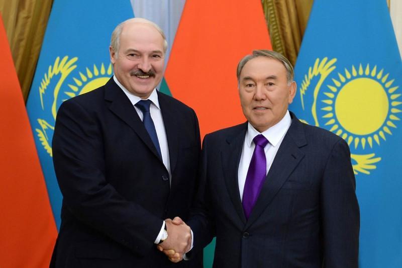 Нурсултон Назарбоев Александр Лукашенкога табрик телеграммасини юборди