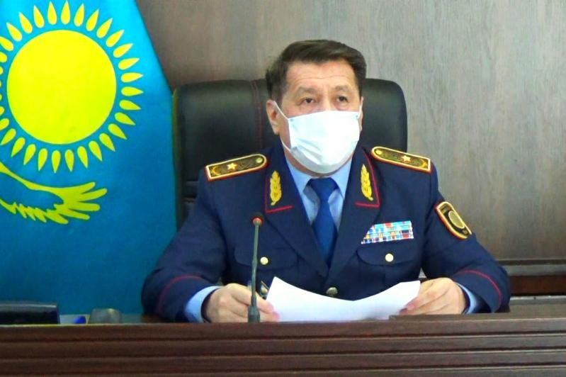 На треть снизилась преступность в Жамбылской области