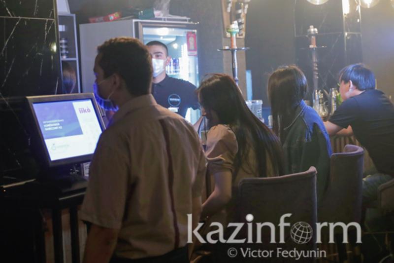 Лаундж-бары принимали посетителей по ночам в столице