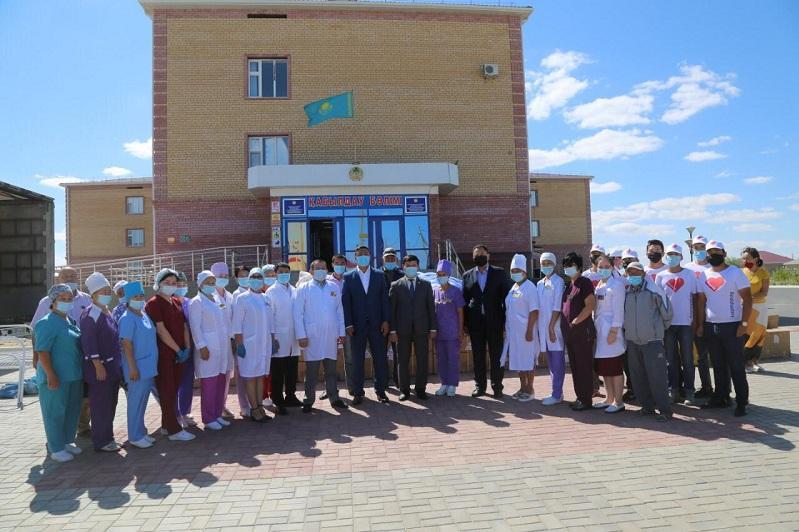 «Araltuz» ben «Aralsoda» aýrýhanaǵa 50 mln teńge kóleminde kómek kórsetti