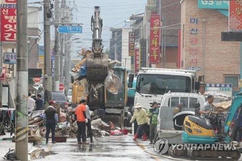 S. Korean central region under 49 days of rainy season, longest on record