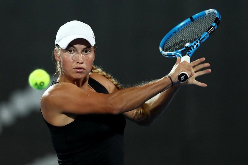 哈网球选手尤利娅·普婷塞娃在克星敦网球公开赛迎来开门红