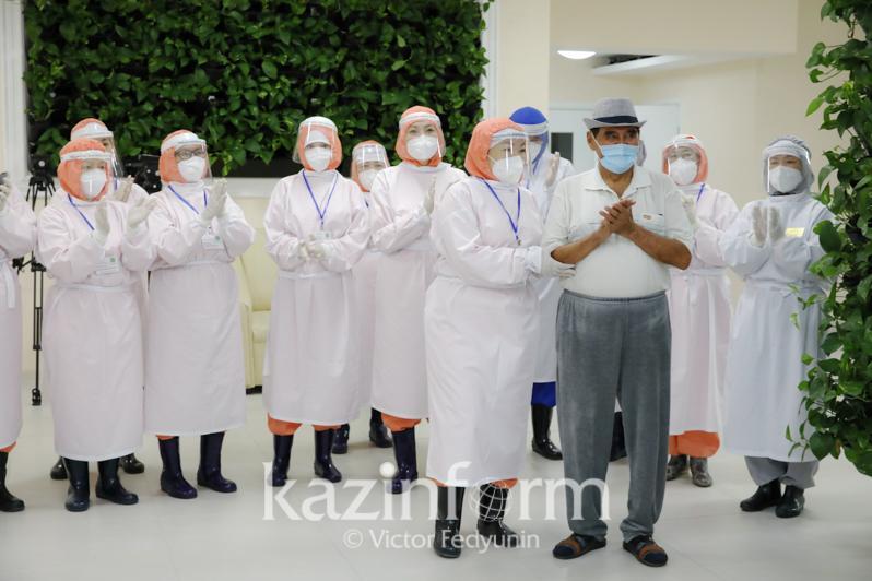 Nur-Sultan's COVID-19 hospital discharges last patient