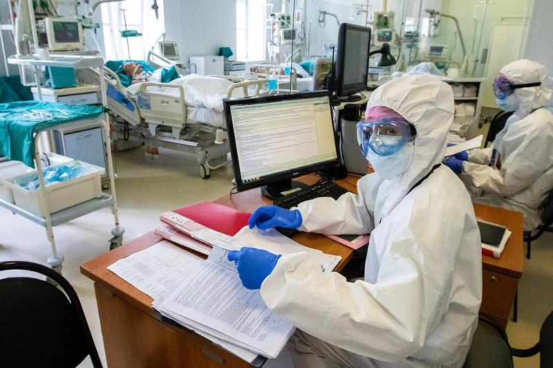 俄罗斯累计确诊新冠肺炎染病例超过90万