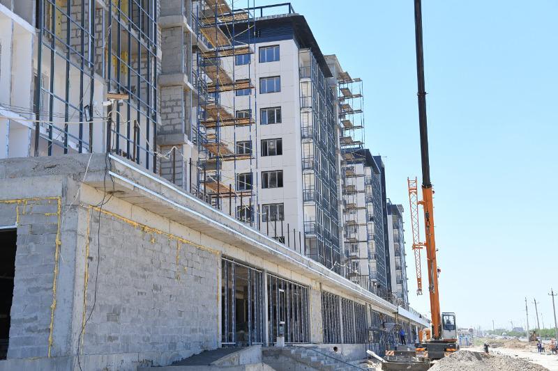 Около 1500 квартир сдали в эксплуатацию в Шымкенте с начала года