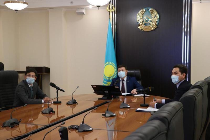 Состоялось онлайн-заседание Координационного совета по развитию молодежных организаций при МИОР РК