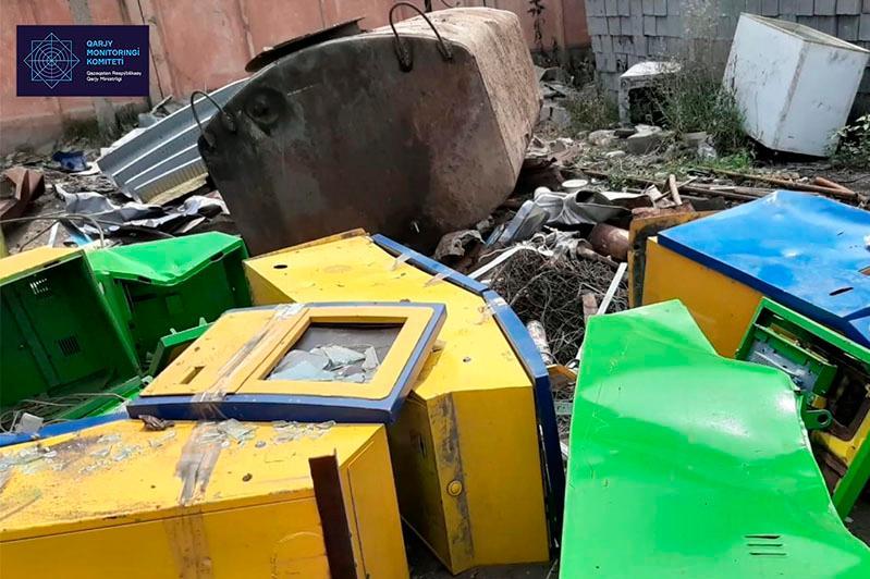 Алматы облысында тәркіленген ойын автоматтары жойылды