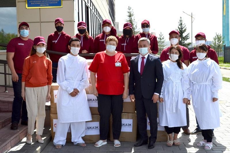 东哈州动力工程师向当地医务人员提供人道主义援助