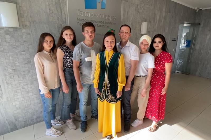 «Татар-информ» ҚазАқпарат агенттігін 100 жылдық мерейтойымен құттықтады