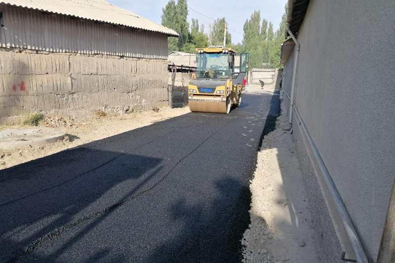 85 километров дорог заасфальтируют в Сайрамском районе Туркестанской области