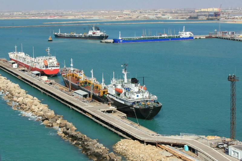3,4 млн тонн грузов перевалено через морские порты Казахстана с начала года