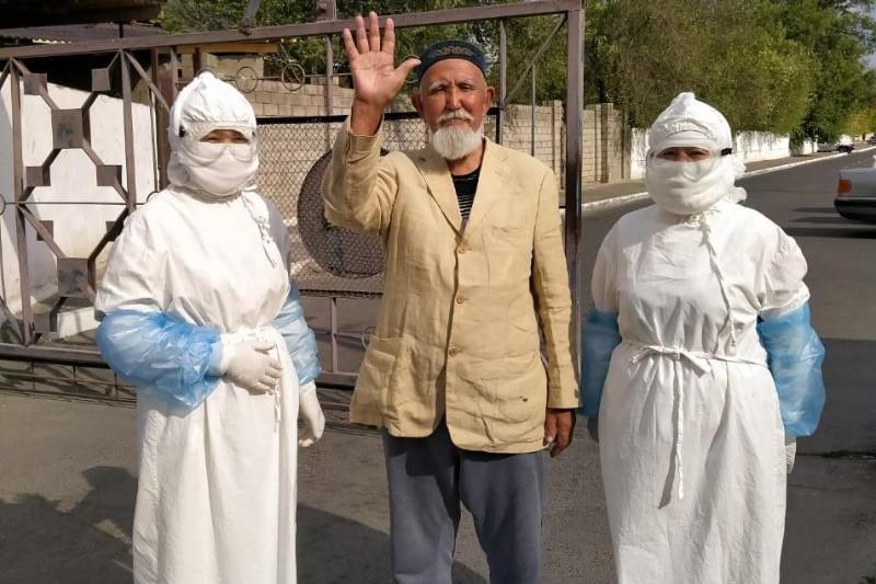 79-летний житель Жамбылской области победил коронавирус