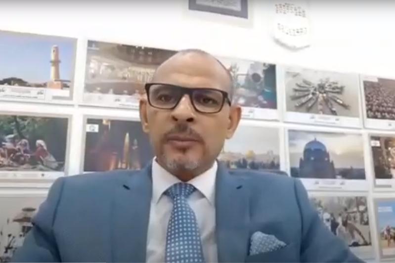 ҚазАқпарат оқиғалардан ақпарат тарататын маңызды алаңға айналған  - UNA бөлімінің басшысы Хазем Абдо