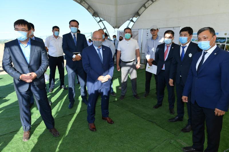 Түркістан облысында тігін фабрикасының алғашқы қазығы қағылды
