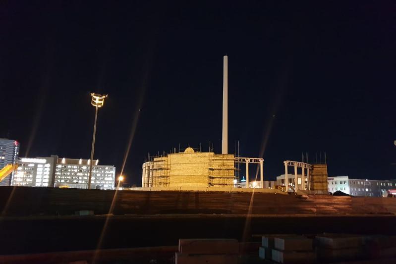 Прокуратура: причина падения 91-метрового флагштока в Атырау – хищение средств
