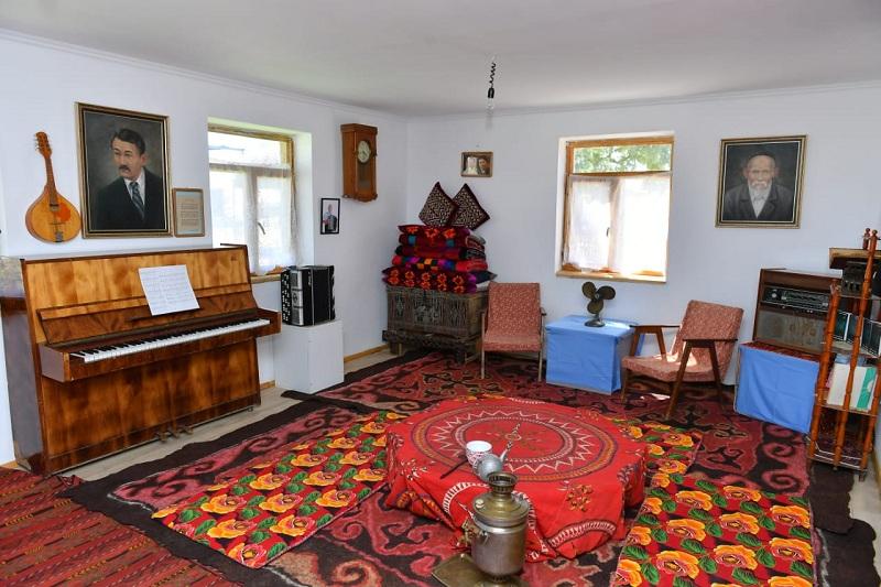Shamshi Kaldayakov Museum unveils in Turkestan rgn
