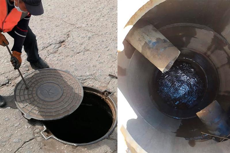Незаконные врезки в ливневки выявили в Нур-Султане