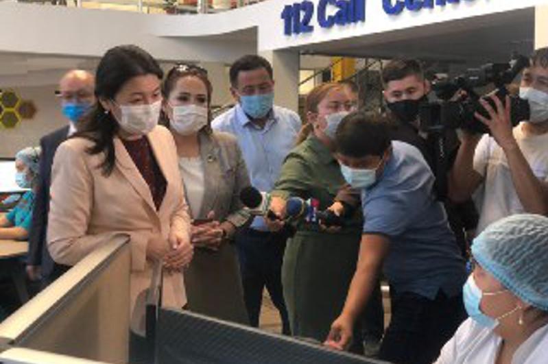 Денсаулық сақтау вице-министрі Шымкенттегі медициналық мекемелер жұмысымен танысты