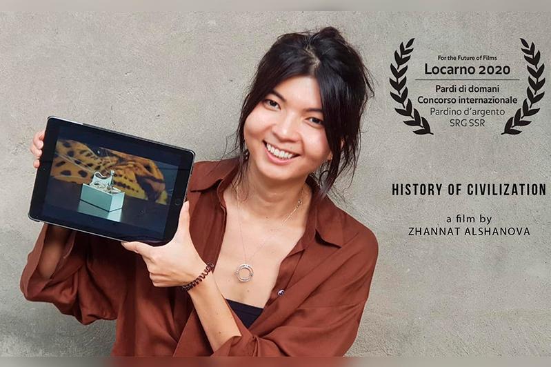 """哈萨克斯坦电影在洛迦诺国际电影节获得""""银豹奖"""""""